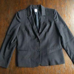 Anne Klein black blazer size 16